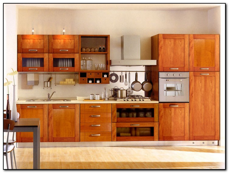 kitchen cabinets layout ideas photo - 4