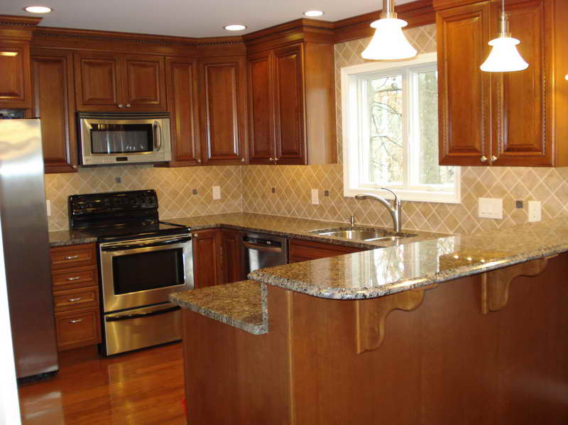 kitchen cabinets layout ideas photo - 7