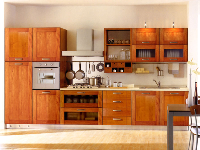 kitchen cabinets layout ideas photo - 8