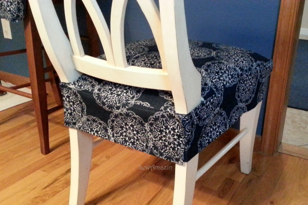 kitchen chairs seat covers photo - 2