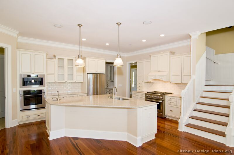 kitchen design ideas antique white photo - 10