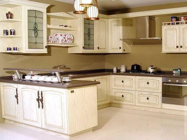 kitchen design ideas antique white photo - 4