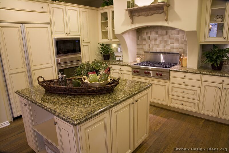 kitchen design ideas antique white photo - 9