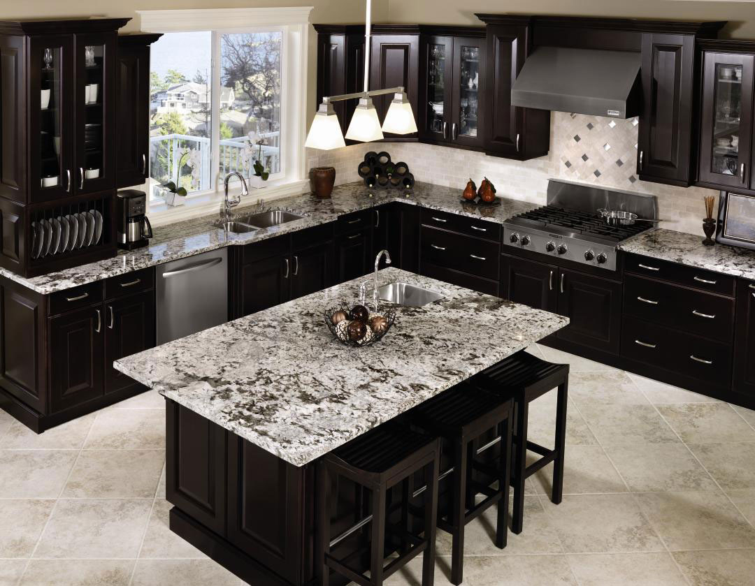 kitchen design ideas black cabinets photo - 3