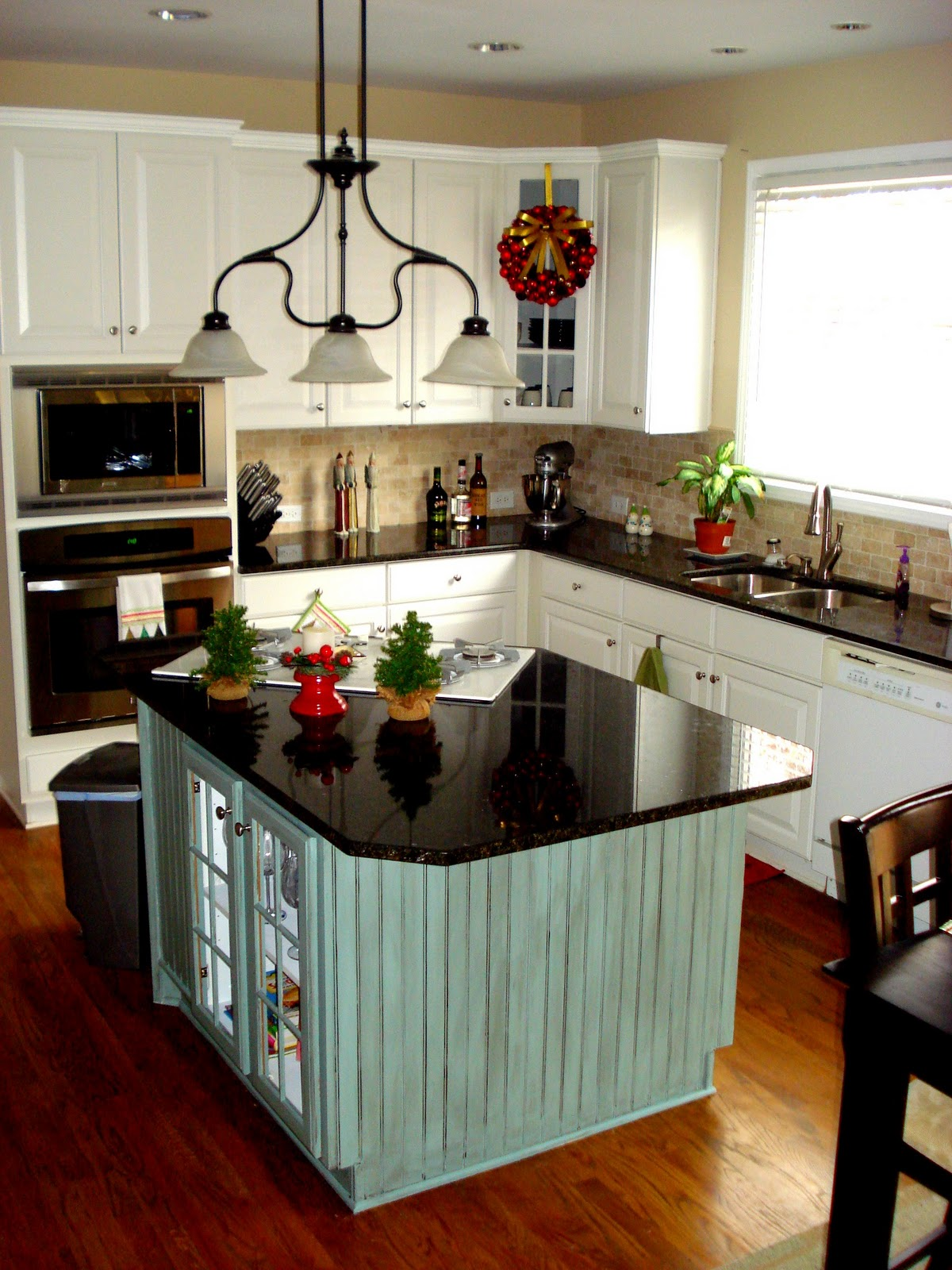 kitchen design ideas for small kitchens island photo - 4