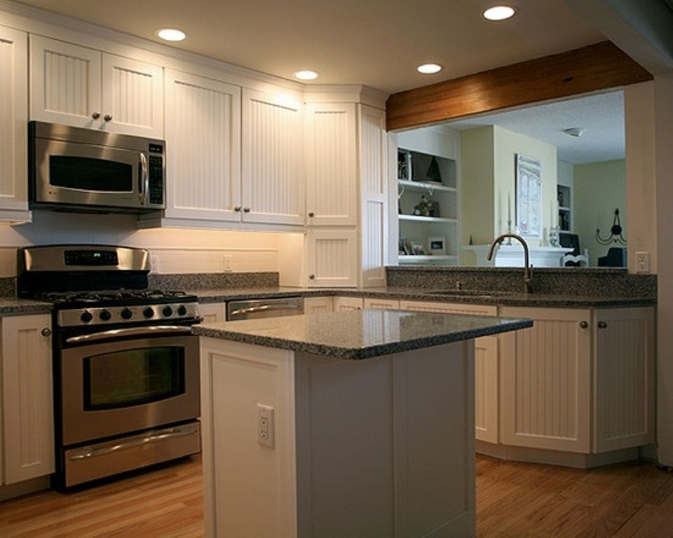 kitchen design ideas for small kitchens island photo - 7