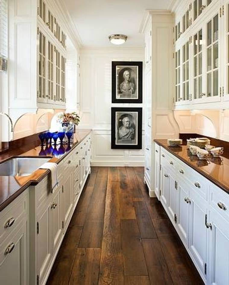 kitchen design ideas galley photo - 10