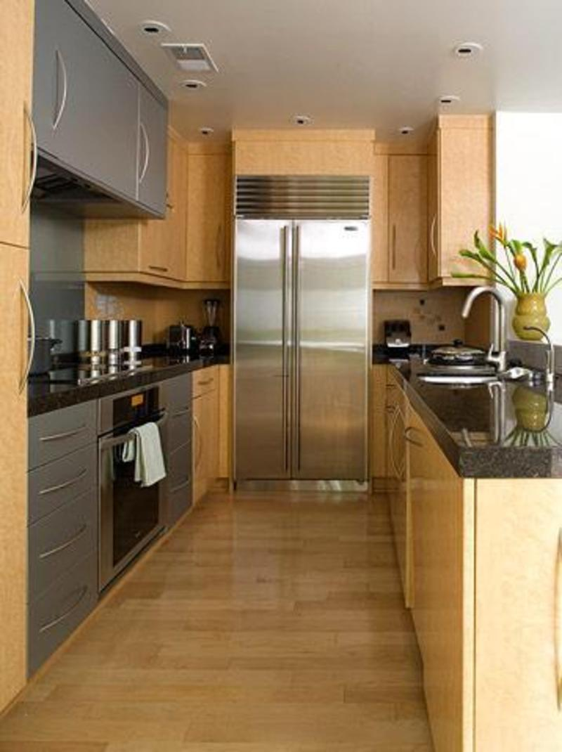 kitchen design ideas galley photo - 6