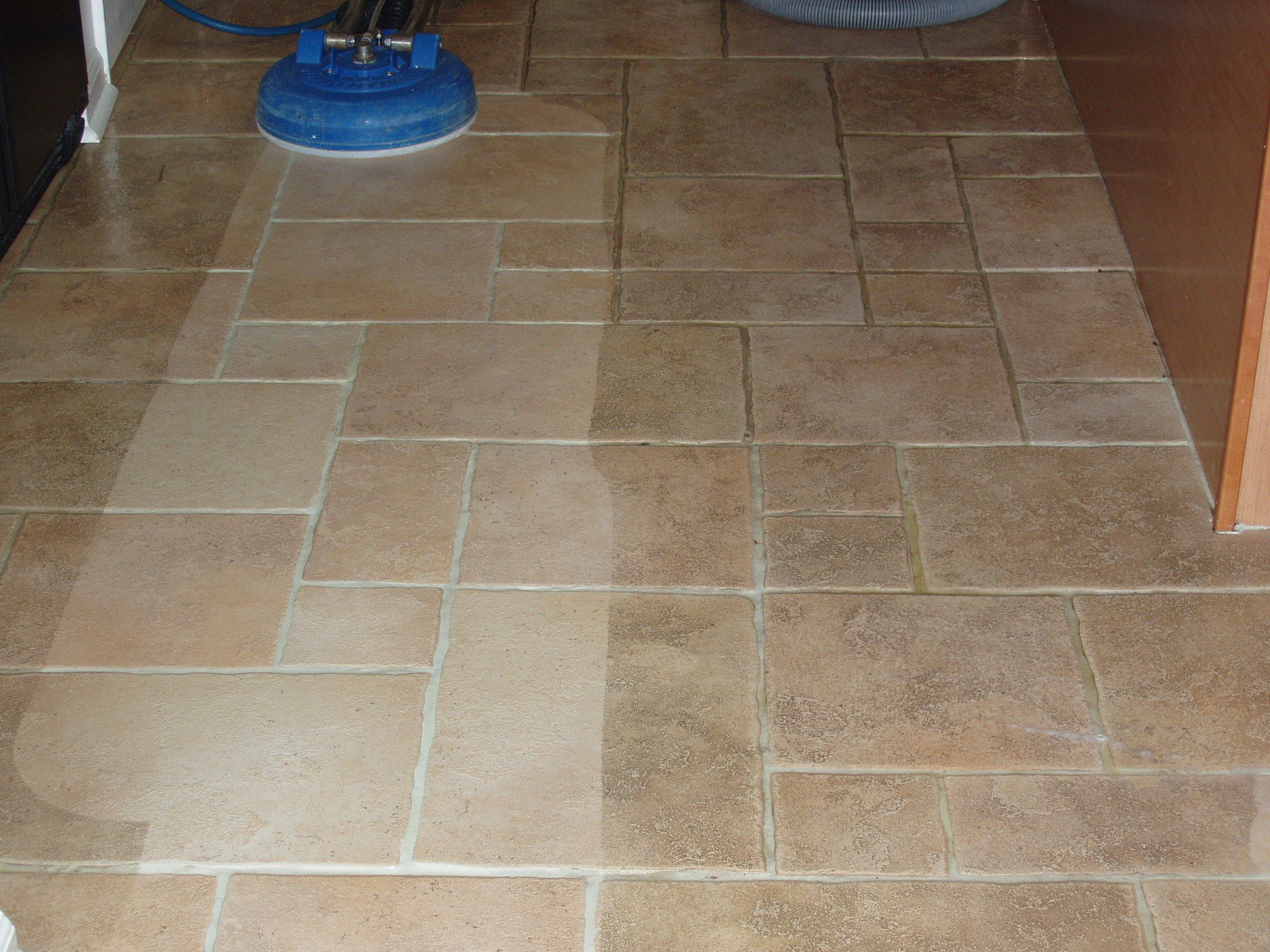 kitchen floor tile and grout cleaner photo - 10