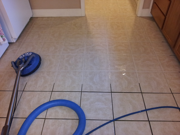 kitchen floor tile and grout cleaner photo - 5