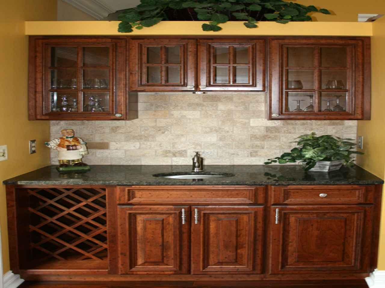 kitchen ideas oak cabinets photo - 9
