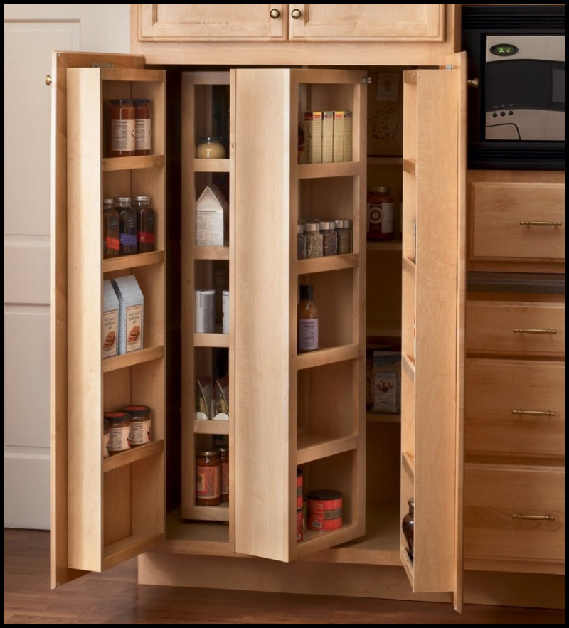kitchen pantry shelving systems photo - 4