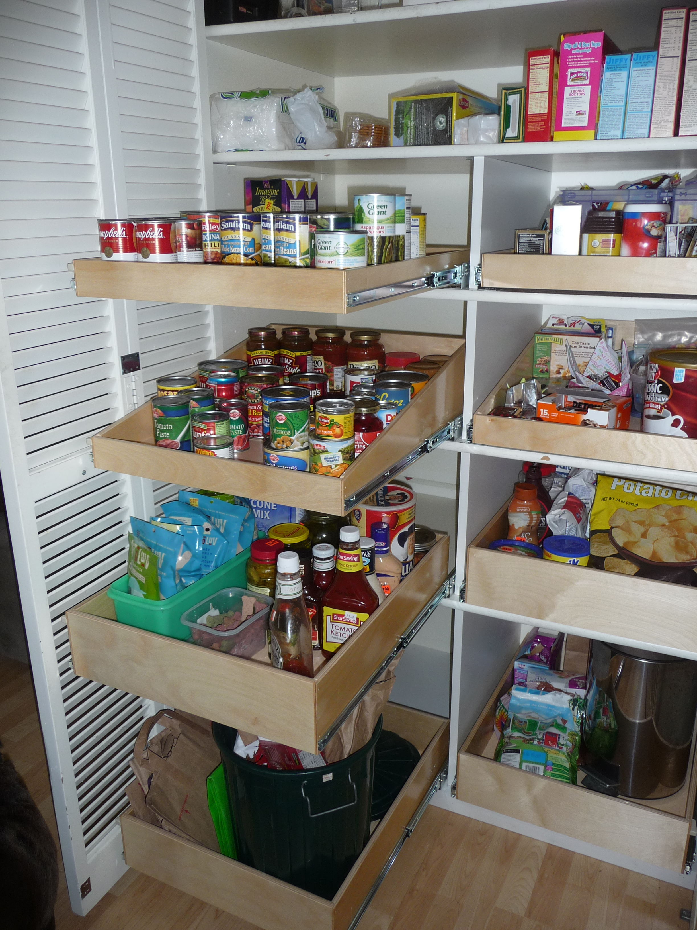 kitchen pantry shelving systems photo - 6