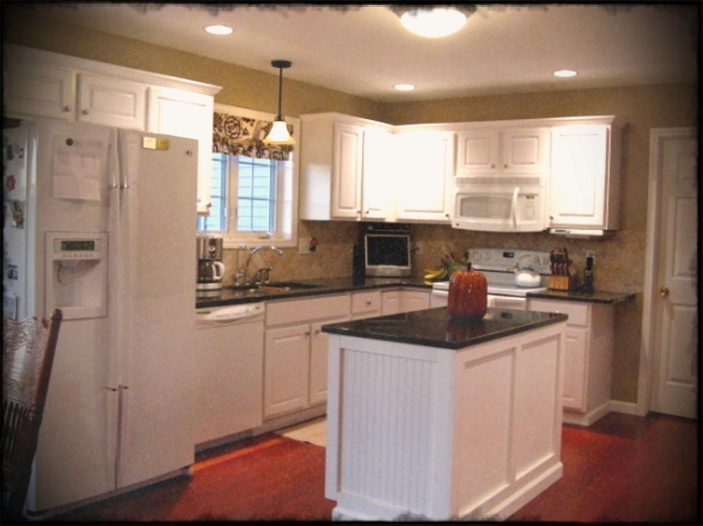 l shaped apartment kitchen photo - 8