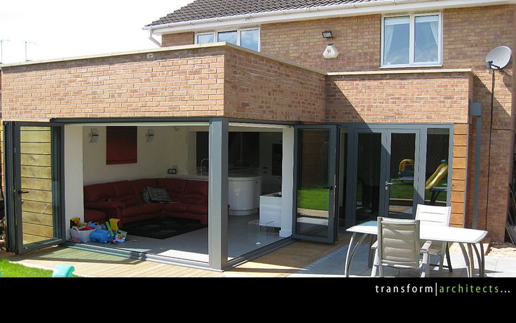 l shaped kitchen extensions photo - 2