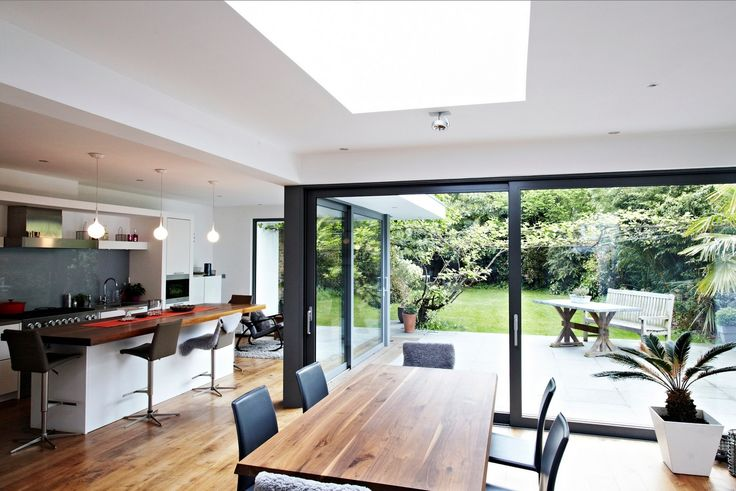 l shaped kitchen extensions photo - 6