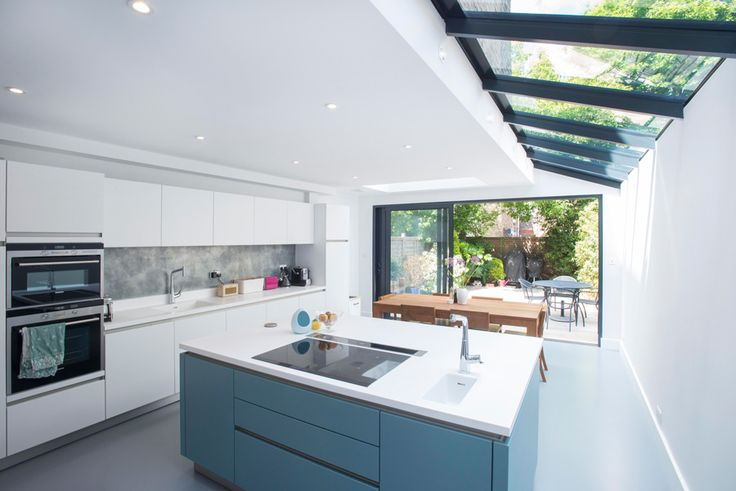 l shaped kitchen extensions photo - 7