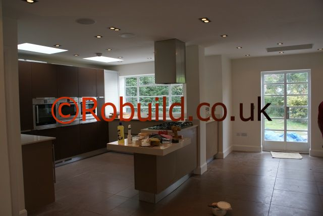 l shaped kitchen extensions photo - 8