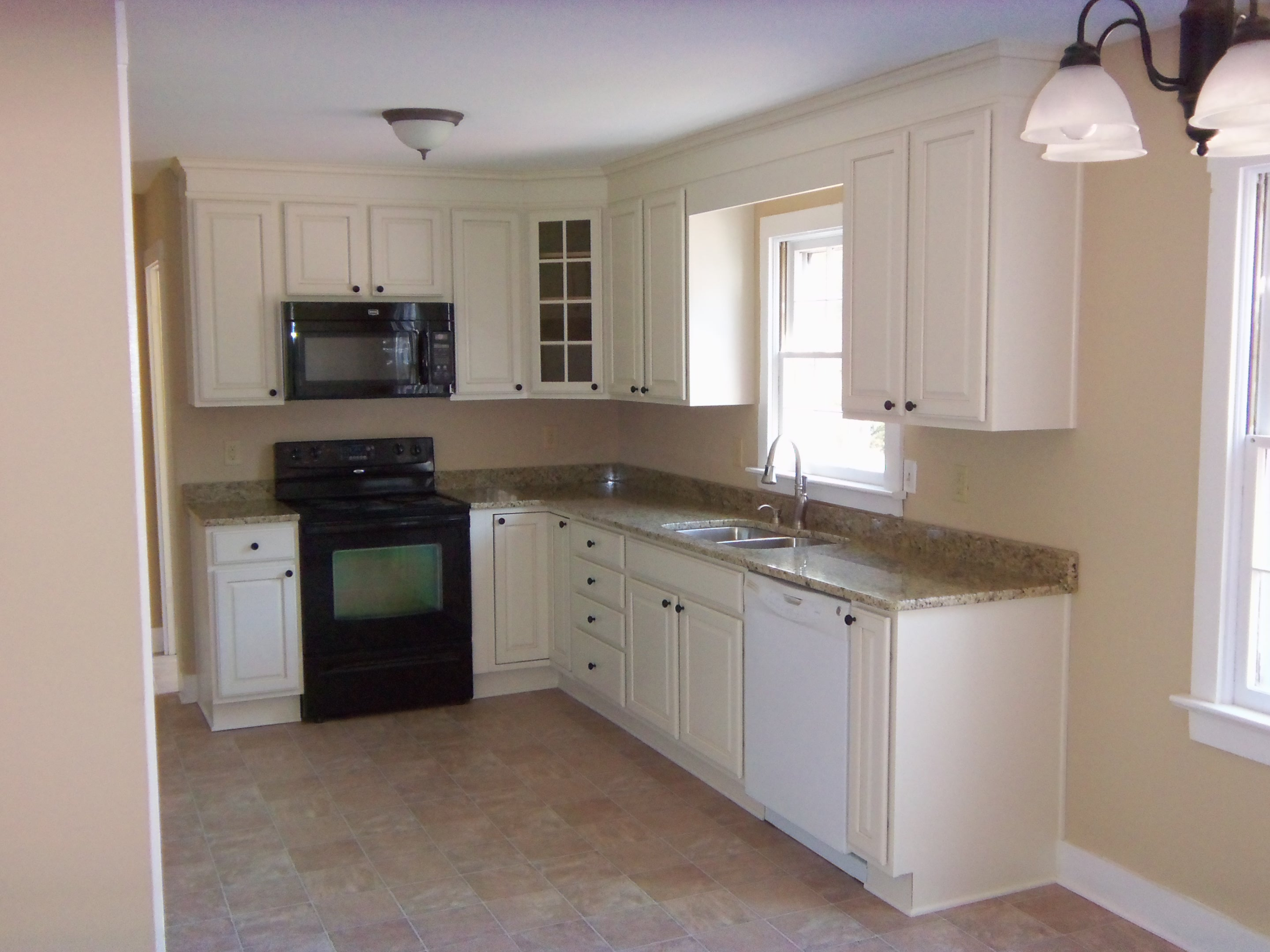 l shaped kitchen remodel photo - 1