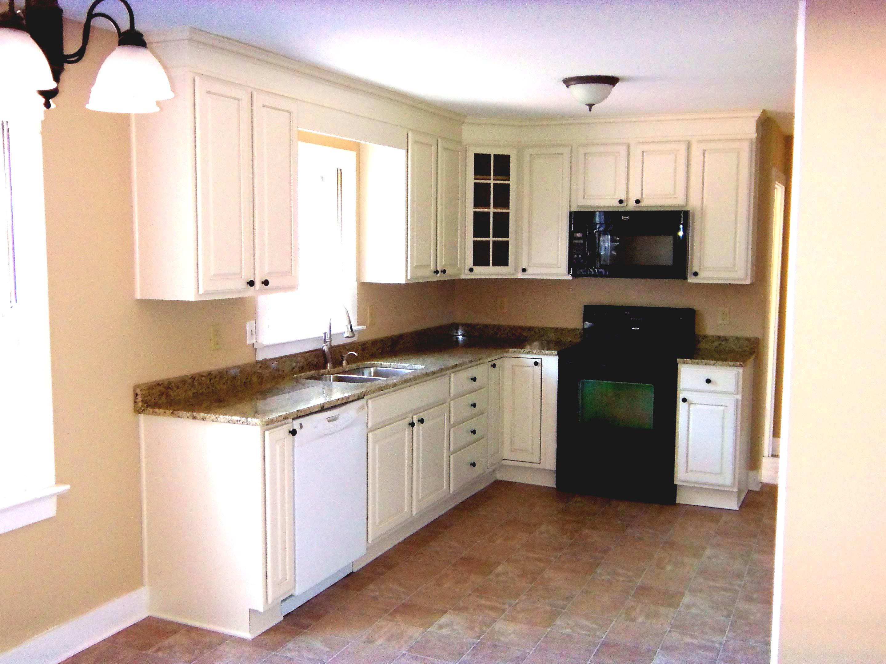 l shaped kitchen remodel photo - 3