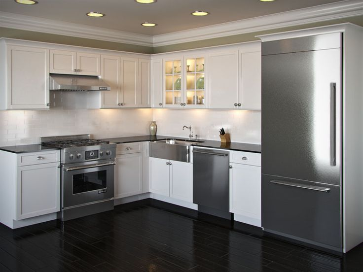 l shaped kitchen remodel photo - 6