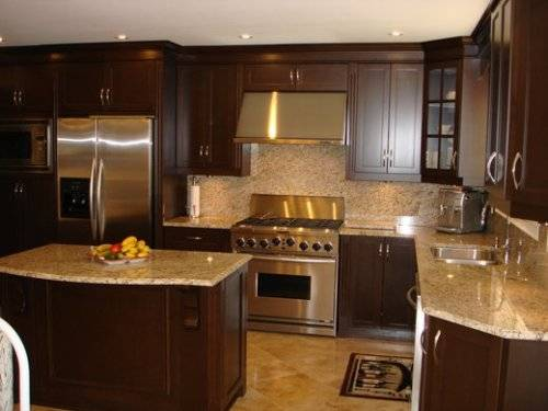 l shaped kitchen with island designs photo - 10