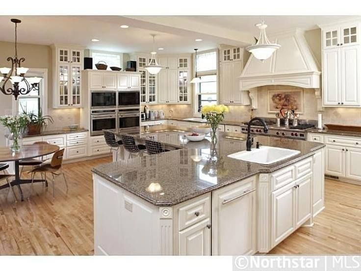 l shaped kitchen with island designs photo - 3