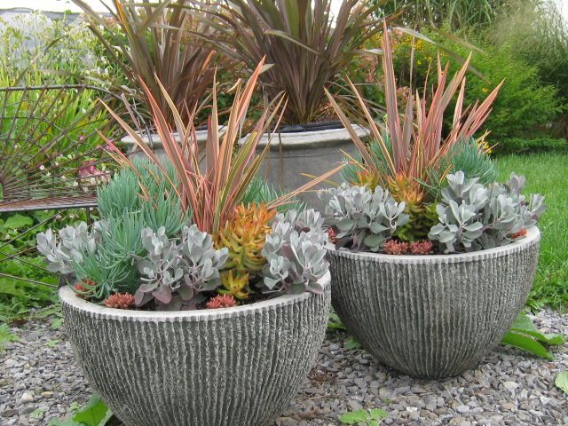 large designer garden pots photo - 1