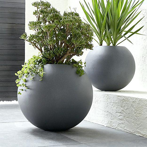 large designer garden pots photo - 9