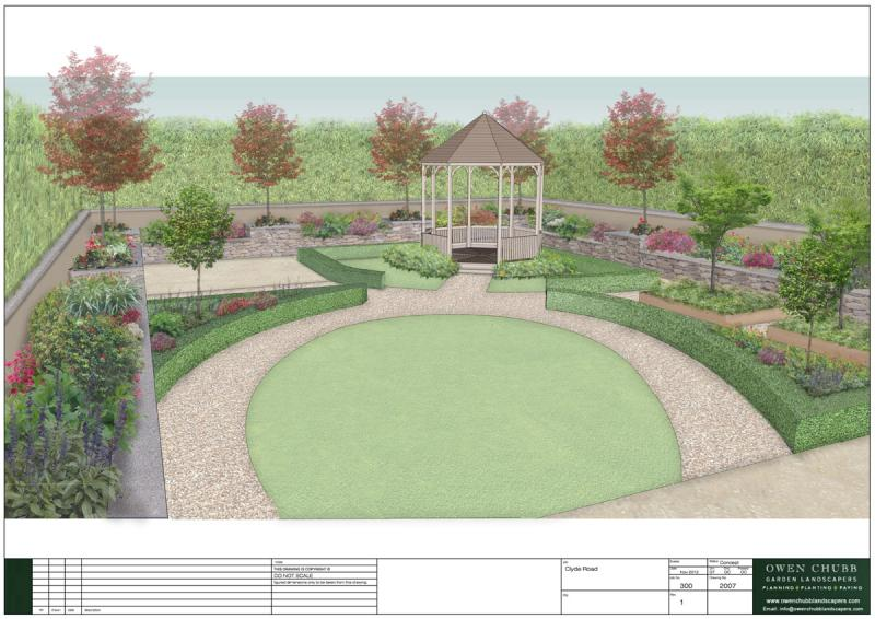 large family garden design photo - 8