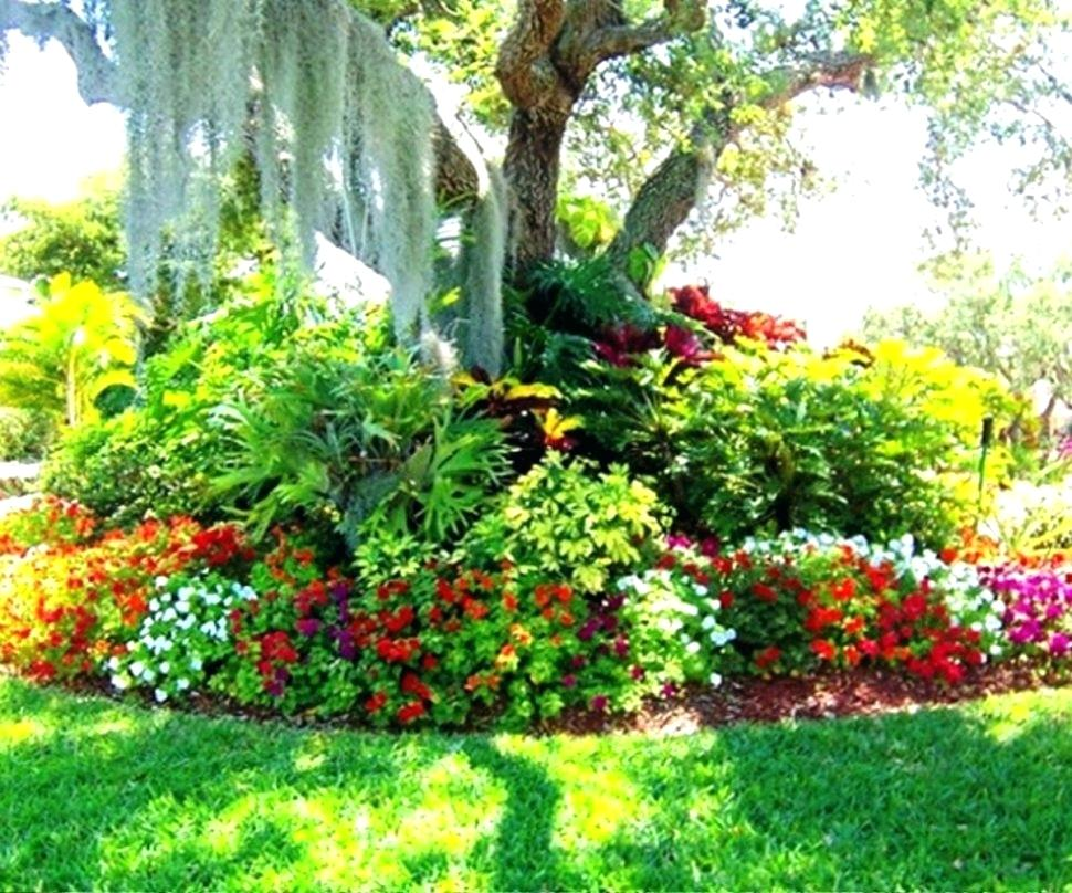 large flower garden design photo - 7