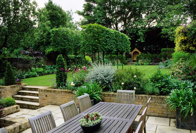large garden design pictures photo - 9