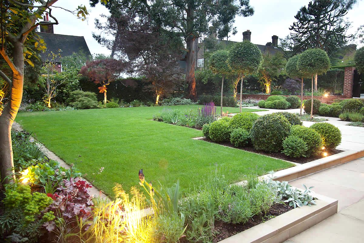 large garden designs plans photo - 8