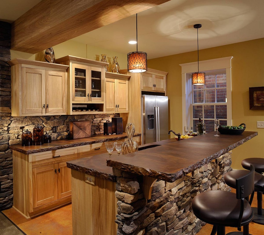latest country kitchen designs photo - 1