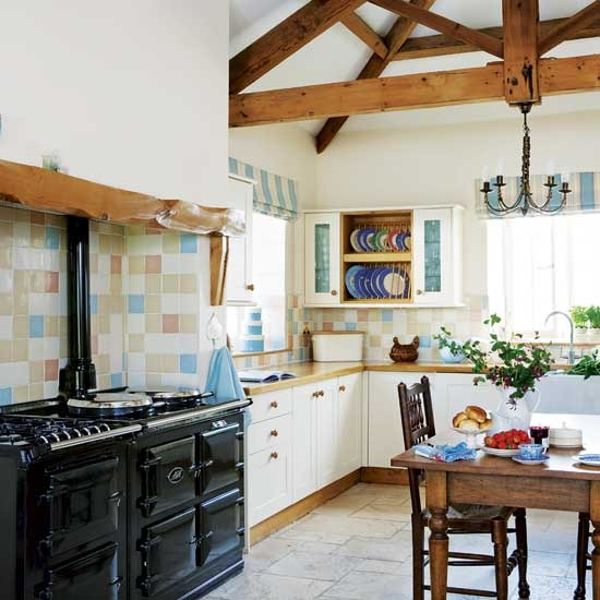 latest country kitchen designs photo - 3