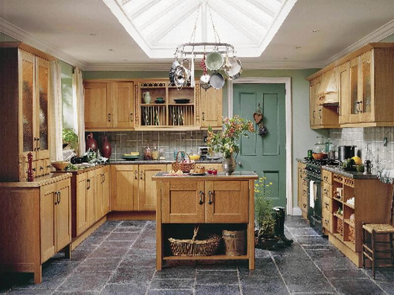 latest country kitchen designs photo - 4