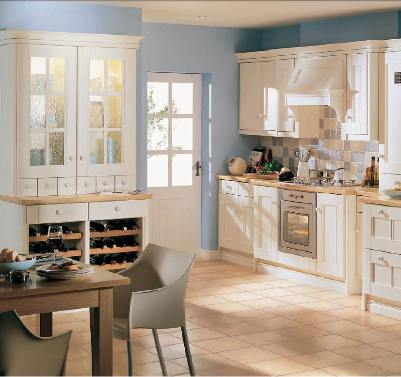 latest country kitchen designs photo - 5