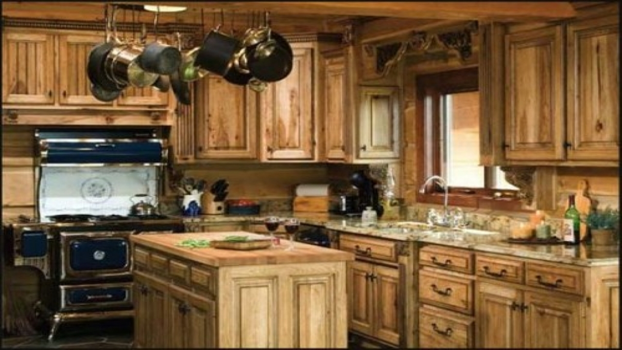 latest country kitchen designs photo - 7