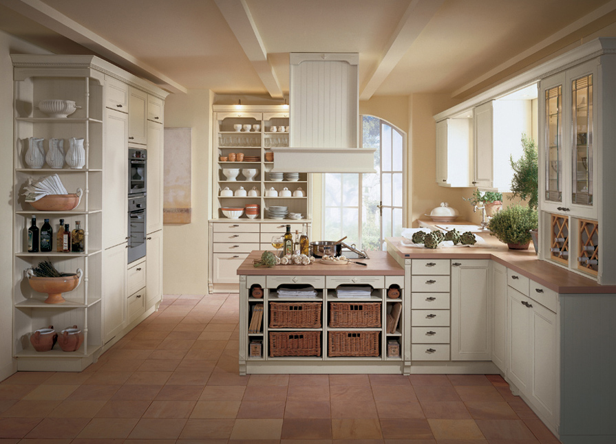latest country kitchen designs photo - 8
