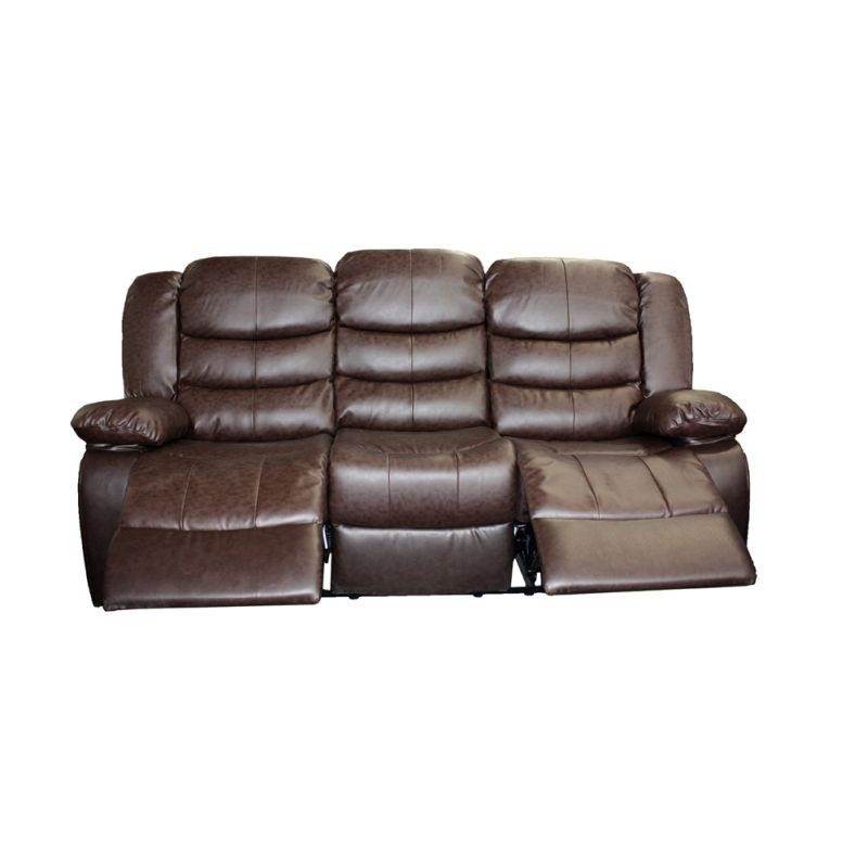 leather sectional sofa bed recliner photo - 10