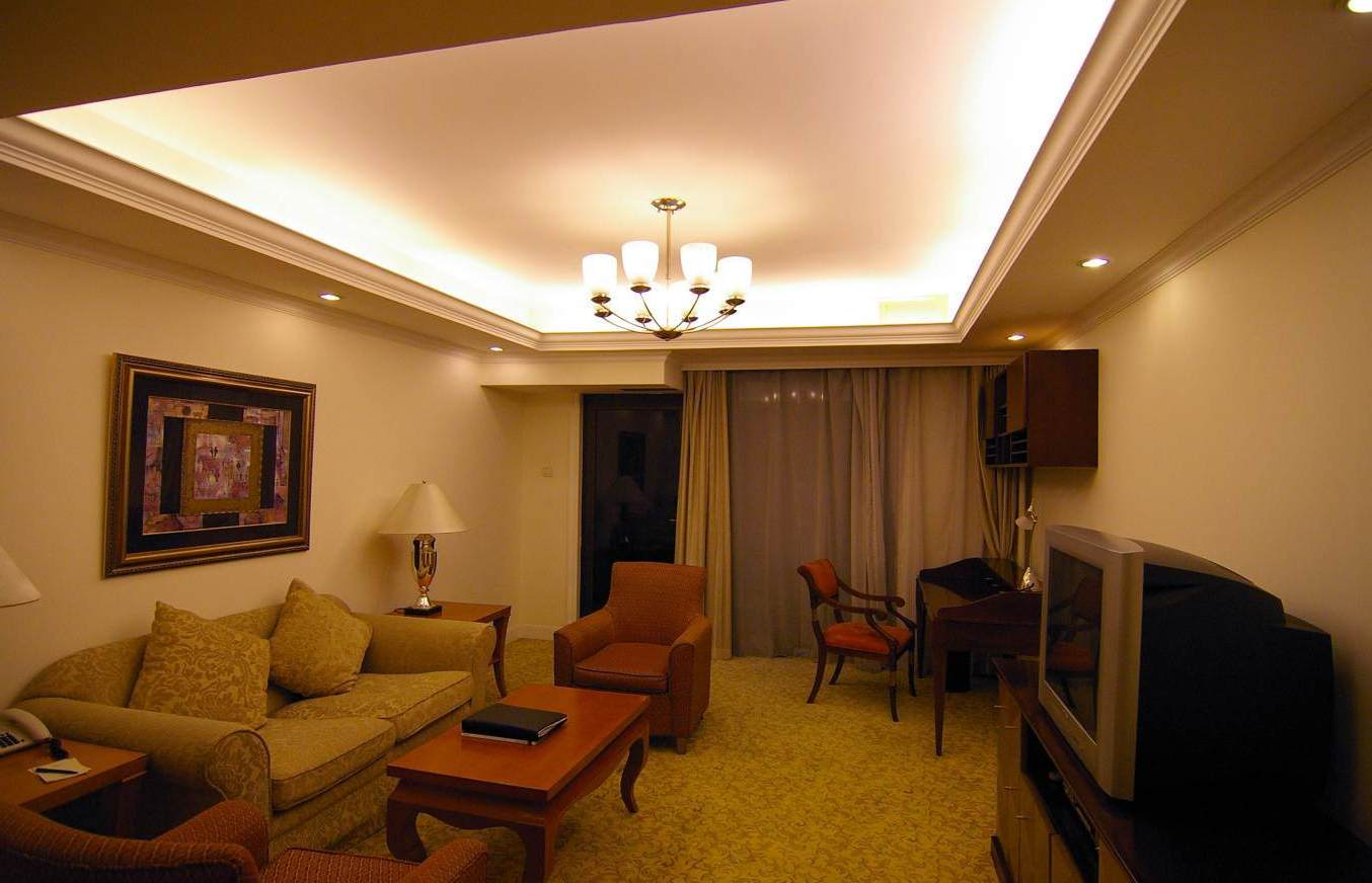 living room design lighting photo - 2