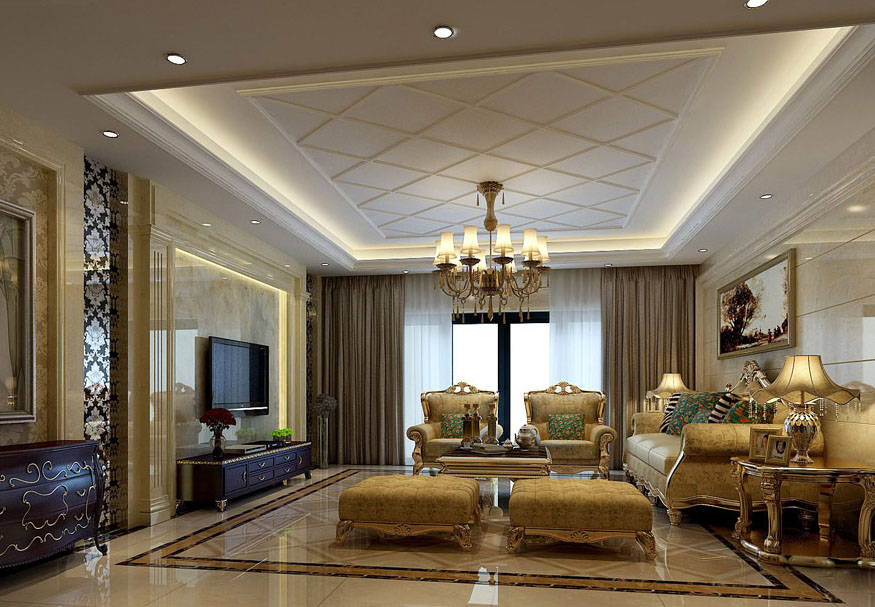 living room design lighting photo - 7