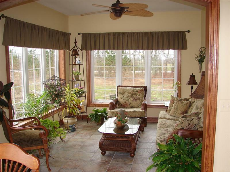 living room designs brown furniture photo - 2