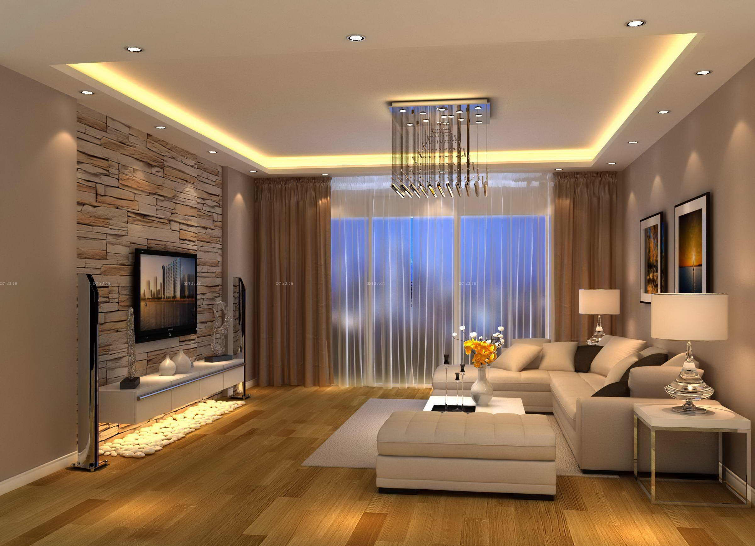 living room designs modern photo - 1