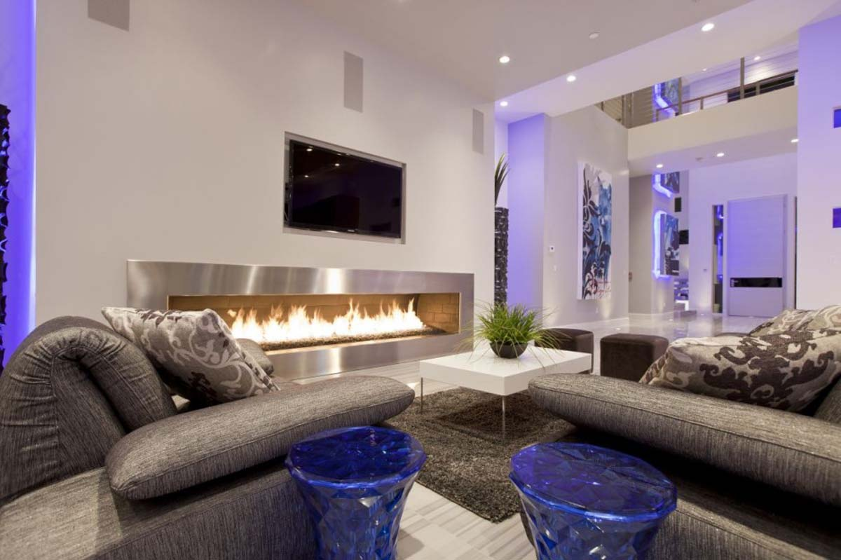living room designs modern photo - 2