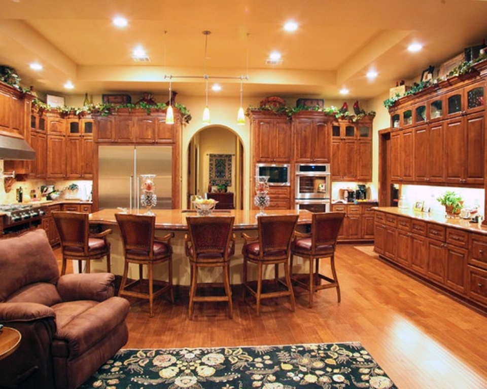living room kitchen designs photo - 1