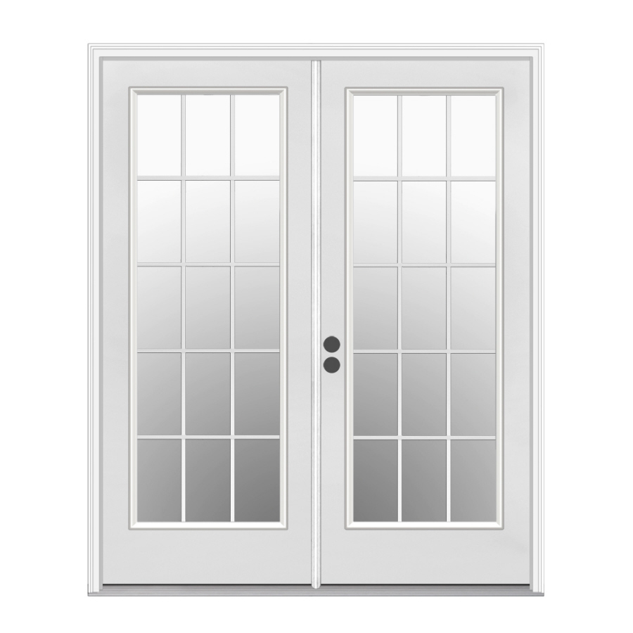 lowes double french doors exterior photo - 4