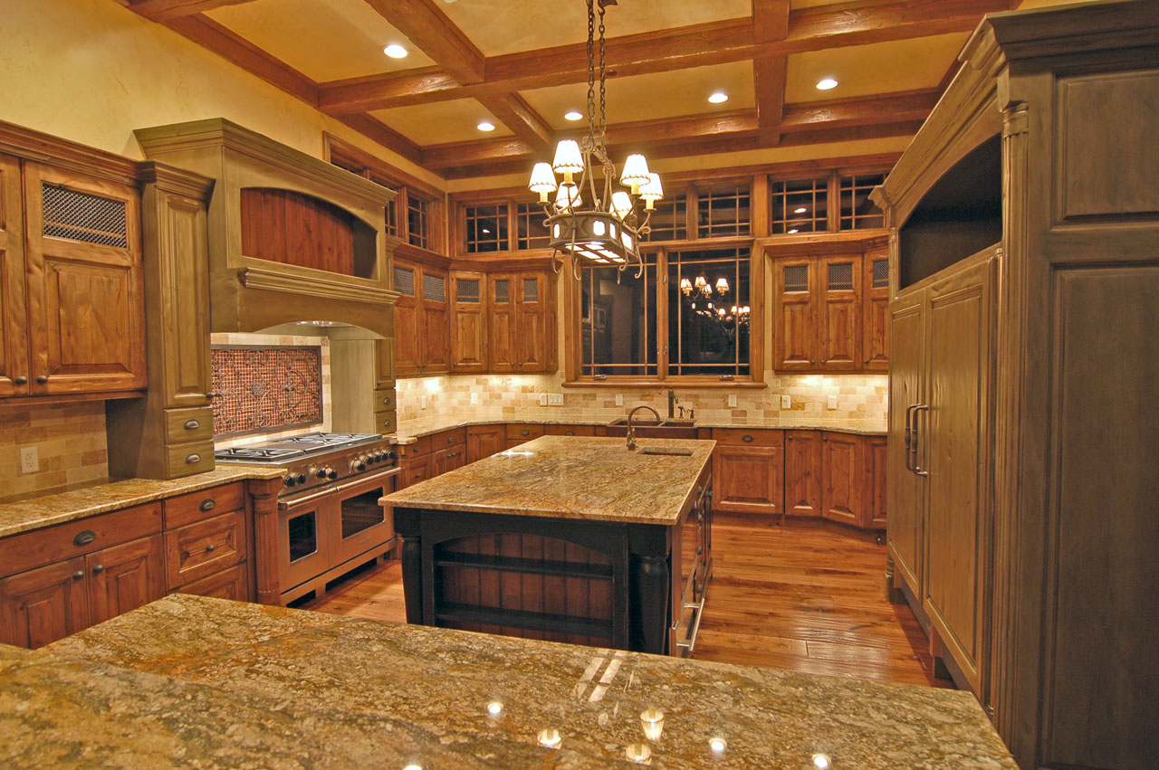luxury country kitchen designs photo - 1