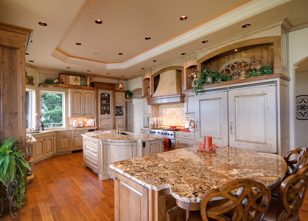 luxury country kitchen designs photo - 2