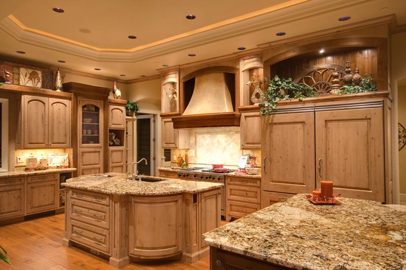 luxury country kitchen designs photo - 4